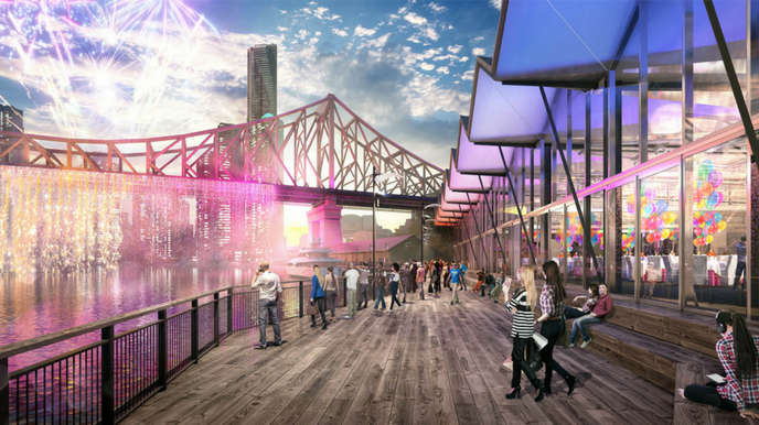 Why Brisbane? - Howard Smith Wharves - Calnan Flack